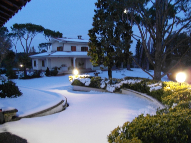 WINTER 2012 IN CASTEL DI GUIDO